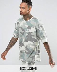 Свободная футболка Other UK - Синий