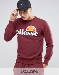 Свитшот с классическим логотипом Ellesse - Красный