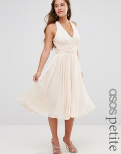 Платье миди ASOS PETITE WEDDING Hollywood - Розовый
