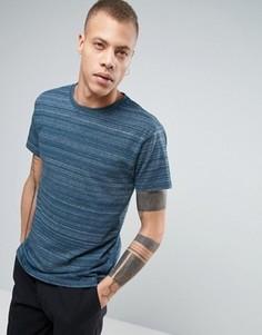 Синяя футболка в полоску Cheap Monday Standard - Синий