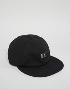 6-панельная кепка HUF - Черный