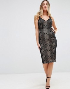 Платье миди на двойных бретельках Jessica Wright - Черный