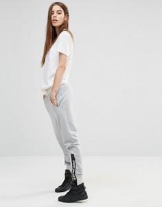 Свободные тренировочные брюки с логотипом G-Star - Серый
