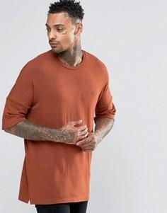 Футболка с заниженной линией плеч Criminal Damage - Оранжевый