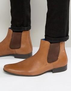 Кожаные ботинки челси Red Tape - Рыжий