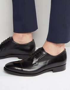Туфли дерби с отделкой на носке Paul Smith Ernest - Черный