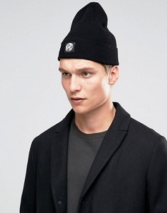 Черная шапка‑бини из мериносовой шерсти PS By Paul Smith - Черный