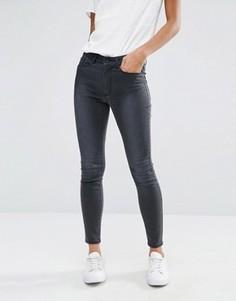 Облегающие джинсы с завышенной талией Vero Moda - Серый