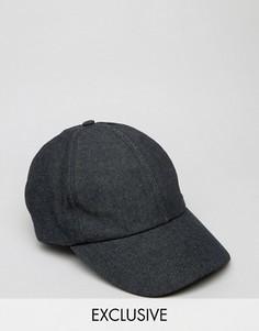 Джинсовая бейсболка Reclaimed Vintage - Черный