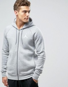 Серое худи Nike Jordan Jumpman Flight 823064-063 - Серый