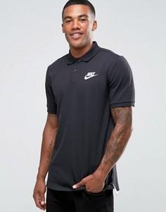 Черная футболка-поло Nike 829360-010 - Черный