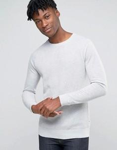 Фактурный джемпер с рукавами реглан Esprit - Серый