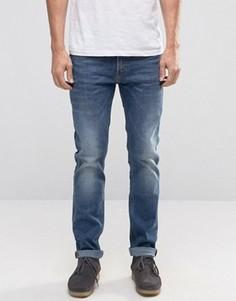 Эластичные джинсы слим Lee Rider - Синий