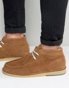 Замшевые ботинки Selected Homme Ronni - Рыжий