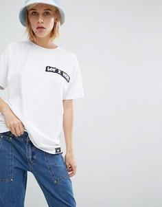 Oversize-футболка с логотипом House of Holland x Lee Hickory - Белый