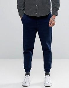 Плотные спортивные штаны из флиса Edwin - Темно-синий