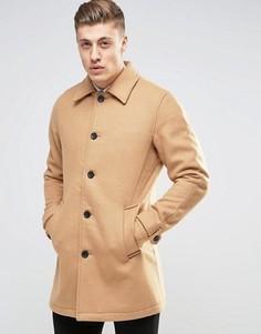 Шерстяное пальто Produkt - Рыжий