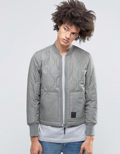 Серая стеганая куртка‑пилот Cheap Monday Trouble - Серый