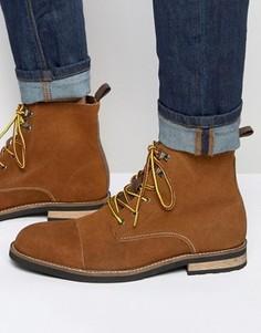 Замшевые ботинки на шнуровке Bellfield Banrock - Рыжий