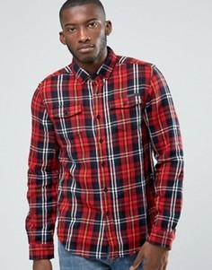 Рубашка в клетку Criminal Damage - Красный