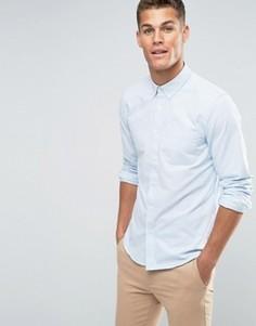 Оксфордская полосатая рубашка классического кроя Jack Wills - Синий