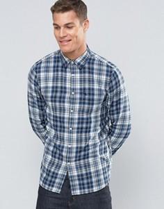 Рубашка в клетку классического кроя Jack Wills - Синий