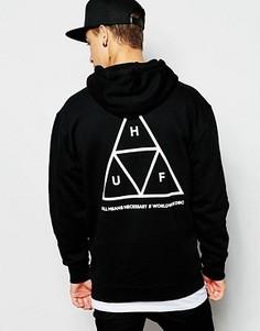 Худи с тремя треугольниками HUF - Черный