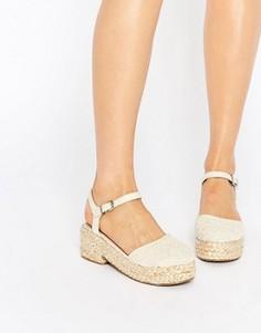 Туфли на платформе ASOS OPAL - Белый