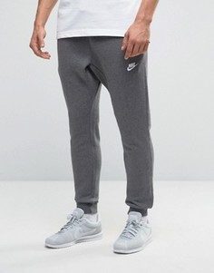 Серые джоггеры узкого кроя Nike 804408-071 - Серый