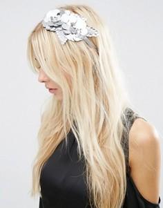 Украшение для волос с цветами ASOS - Серебряный
