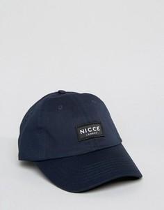 Темно-синяя бейсболка Nicce - Темно-синий