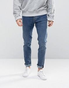 Синие джинсы скинни Weekday Friday - Синий