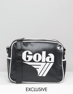 Черно-белая сумка почтальона Gola Classic Redford - Мульти