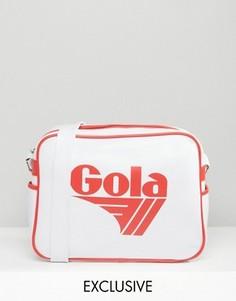 Бело-красная сумка почтальона Gola Classic Redford - Мульти