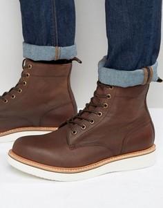 Нубуковые ботинки на шнуровке ALDO Waovia - Коричневый