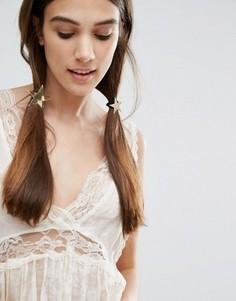Резинки для волос со звездами Orelia - Золотой