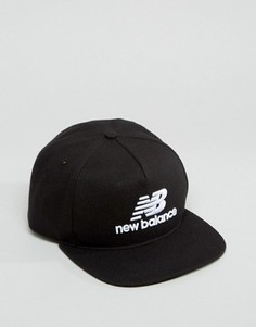 5-панельная кепка New Balance Pro - Черный