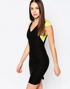 Платье-футляр с коротким рукавом Vesper Nadine - Зеленый