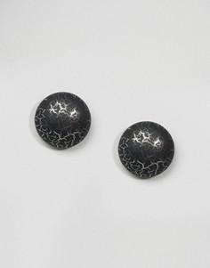 Серьги-гвоздики Suzywan Halloween Cabachon - Черный