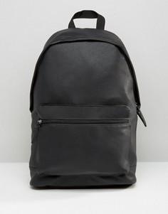 Рюкзак из искусственной кожи ASOS - Черный