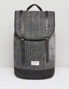 Рюкзак из харрис-твида ASOS - Серый