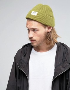 Шапка-бини с добавлением шерсти Wesc Hanson - Зеленый