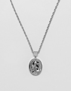 Серебристое ожерелье Mister Gladiator - Серебряный