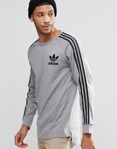Лонгслив adidas Originals Adicolour B10713 - Серый