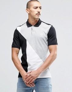 Серая футболка-поло из пике в стиле ретро Reebok AY1215 - Серый