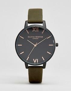 Часы с ремешком хаки Olivia Burton After Dark OB16AD05 - Черный