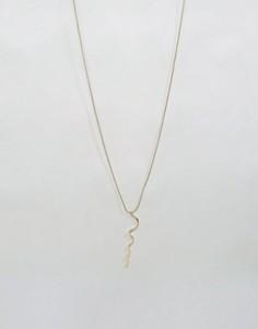 Ожерелье Pieces Diana - Золотой