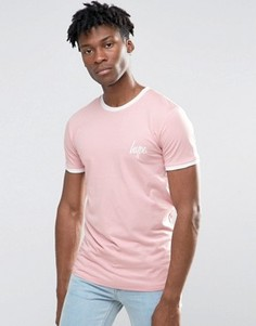 Розовая футболка Hype Ringer - Розовый