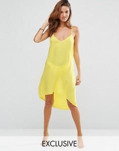 Пляжное платье с лямками сзади Akasa - Желтый