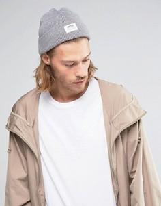 Шапка-бини с добавлением шерсти Wesc Hanson - Серый